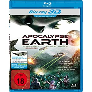 Apocalypse Earth 3d (Blu-Ray 3d) [Import allemand]