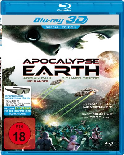 Apocalypse Earth (inkl. 2D-Version) [Blu-ray 3D] [Special Edition]