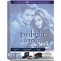 Twilight Forever: The Complete Saga Box Set [DVD + Digital Copy + UltraViolet]