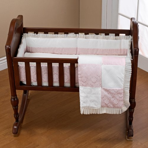 Baby Doll Bedding Queen Cradle Set, Pink