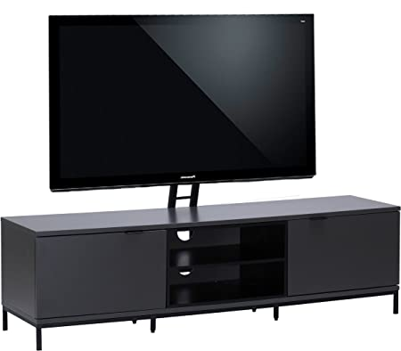 Alphason Chaplin 1600 Cantilever Stand for TVs up to 65 inch - Charcoal