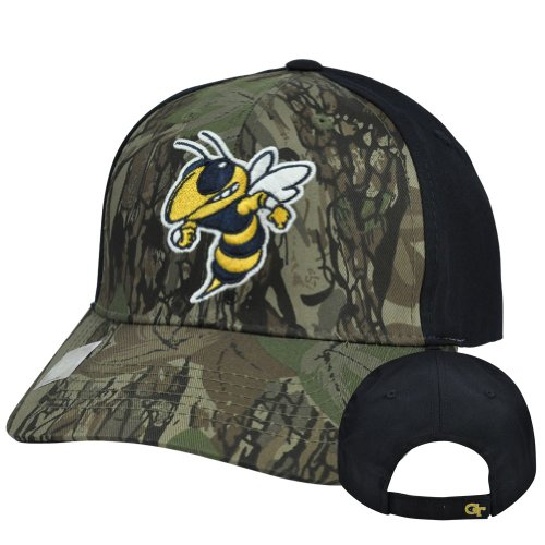 NCAA Georgia Tech Yellow Jackets Freshman Camouflage Adjustable Hat Cap Velcro at Amazon.com