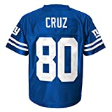 NFL New York Giants Youth Team Player Name and Number Replica Jersey (Age 4-18)