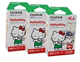 Fuji Instax Mini Instant Film Hello Kitty Cartoon (30 photos) Fujifilm 3 Packs