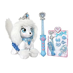 Disney Princess Palace Pets Magic Dance Pumpkin, Cinderella's Puppy with Bonus Hair Accessories - Exclusive Set