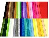 TAFY's NET(タフィーズネット)カラー フェルト 生地 40色 セット 30cm x 30cm