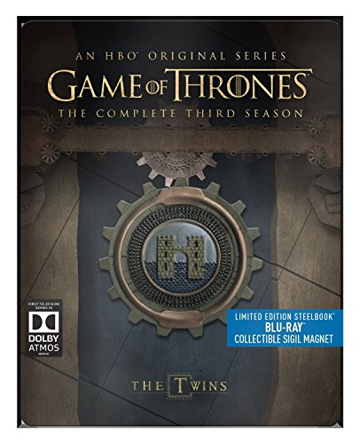Game of Thrones - Season 3 - Limited Edition Steelbook with Collectible Magnet [Blu Ray]