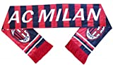 PrinceCity A.C Milan Scarf Super Fans Fleece Scarves - Multicolour (Size: One Size)