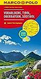 MARCO POLO Regionalkarte �sterreich Blatt3 Vorarlberg,Tirol,Oberbayern 1:200 000 (MARCO POLO Karte 1:200000)