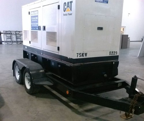 Caterpillar XQ75 Portable Generator Set