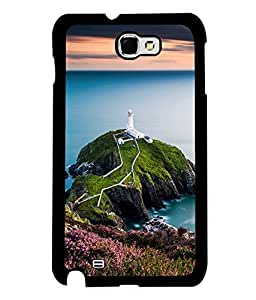 printtech Watchtower Sea Ocean Back Case Cover for Samsung Galaxy Note 2::Samsung Galaxy Note 2 N7100