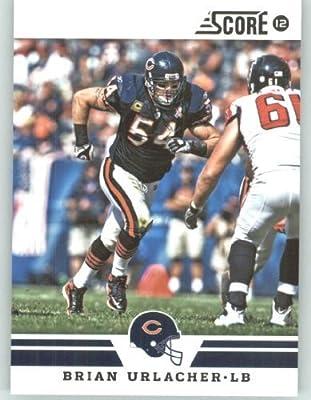 2012 Score Football Card #61 Brian Urlacher - Chicago Bears (NFL Trading Card)