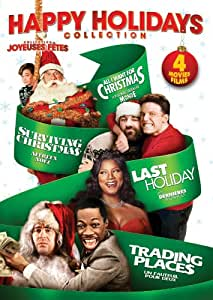Happy Holidays! Four-Movie Collection (Trading Places, Last Holiday, Surviving Christmas, All I Want for Christmas) (Bilingual)