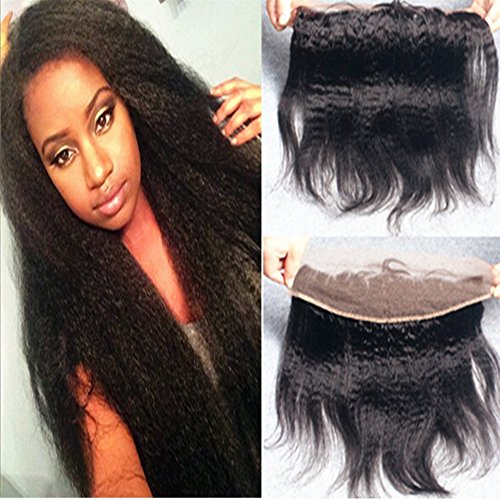 E-forest-hair-Virgin-100-Brazilian-Remy-Human-Hair-Free-Part-Kinky-Straight-13X4-Top-Lace-Frontal-Closure-Natural-Black-8-inch-130-Density-Bleached-Knots-Baby-Hair-SD-04