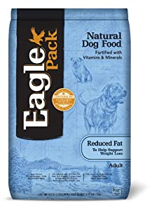 Eagle Pack  Natural Reduced Fat Adult Dry Dog Food, 30-Pound