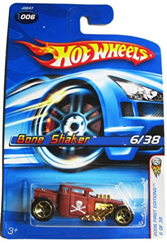 Hot Wheels 2006-006 First Editions Bone Shaker 6/38 1:64 Scale