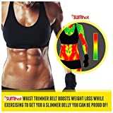 SlimHot® Hot Slimming Weight Loss Belt - Lumbar Support Back Brace - For Men And Women- Better Than As Seen On TV - Best Slimming Thermal Belt To Lose Abdominal Belly Fat - It Works Better Than Pills, Shakes, and Diets - No Cream Needed - Lose Weight And Save Money Now