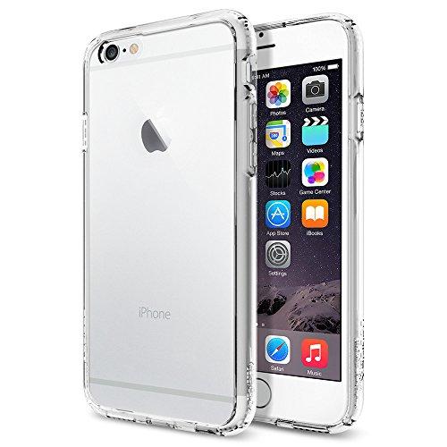 iPhone 6 ケース, Spigen Apple iPhone 4.7 (2014) ウルトラ・ハイブリッド The New iPhone アイフォン6 (国内正規品) (クリスタル・クリア SGP10954)