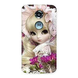 Impressive Angel Look Doll Back Case Cover for Moto X 2nd Gen
