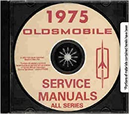 1975 oldsmobile factory repair shop service manual cd for 1975 oldsmobile omega salon