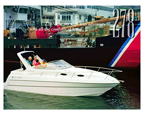 1998 Four Winns 278 Vista Power Boat Photo Poster