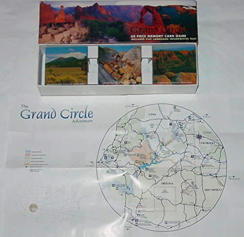 Grand Circle 60 Piece Memory Card Game