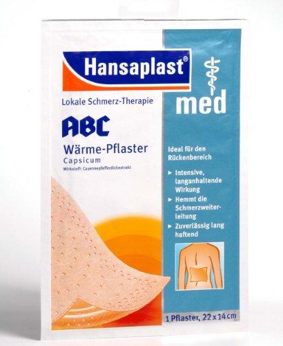 HANSAPLAST med ABC Waerme Pflaster Capsicum, 1 St