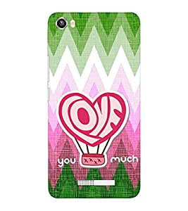 EPICCASE xoxo Mobile Back Case Cover For Lava Iris X8 (Designer Case)