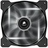 Corsair Air Series AF140-LED 140mm Quiet Edition High Airflow LED Fan - White (Single Pack)