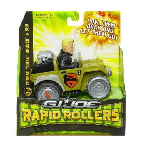 G.I. Joe Rapid Rollers Duke in Green SUV