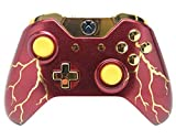 Red Thunder Xbox One Rapid Fire Modded Controller Pro Finish 40 Mods For Cod Bo3, Bo2, Advanced Warfare, Destiny, Ghosts Quickscope, Jitter, Drop Shot, Auto Aim Zombie, Jump Shot, Auto Sprint, Fast Reload, Much More