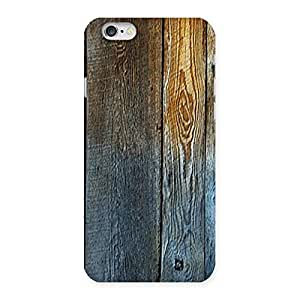 Ajay Enterprises Wall of Wood Back Case Cover for iPhone 6 6S