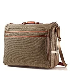 Hartmann Tweed Belting Garment Bag
