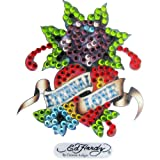 Ed Hardy Mini Decal Eternal Lovevon &#34;Ed Hardy&#34;