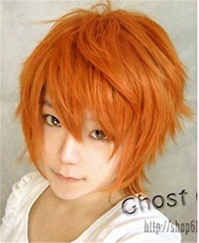 New Short Anti-alice Cosplay Wig (Orange)