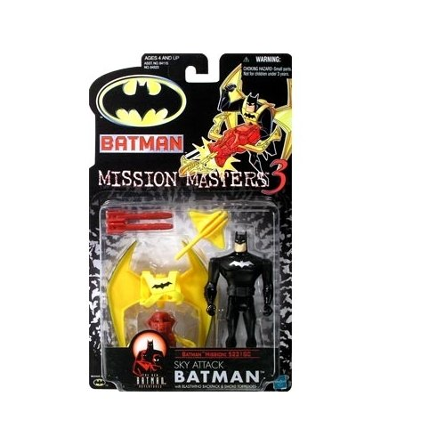 Batman: The New Batman Adventures Mission Masters 3 Sky Attack Batman Action Figure