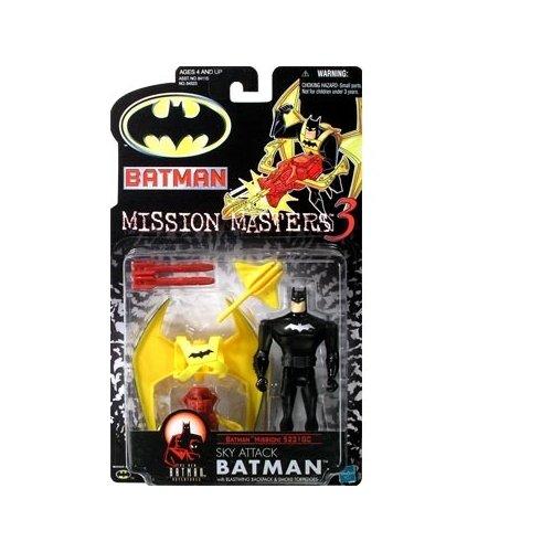 Batman: The New Batman Adventures Mission Masters 3 Sky Attack Batman Action Figure
