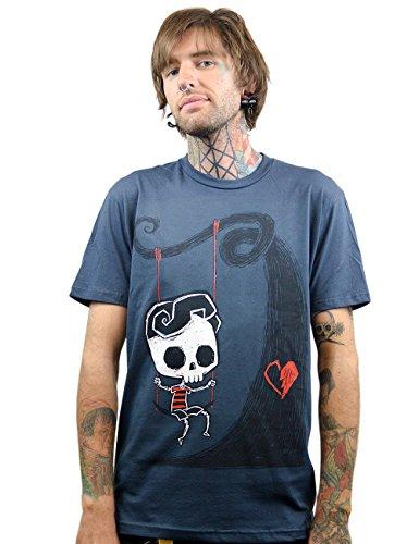 Akumu Ink -  T-shirt - Basic - Maniche corte  - Uomo blu navy Medium