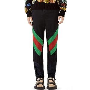 (グッチ) GUCCI メンズ ボトムス・パンツ スウェット・ジャージ Stripe Track Pants [並行輸入品]