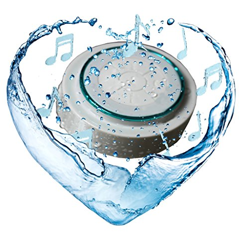 Speaker Waterproof Ipx7 Bluetooth For Shower & Bath ,,Stereo,Handsfree
