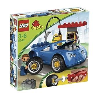 LEGO - 5640 - DUPLO Ville - Jeu de construction - Transport - La Station-service