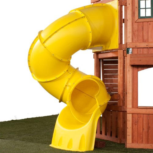 5 Ft Turbo Tube Slide Yellow