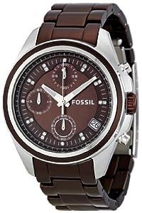 Fossil Women's ES2914 Boyfriend Brown Dial Watch