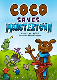 (FREE on 8/21) Coco Saves Monstertown by Amy McNeil - http://eBooksHabit.com