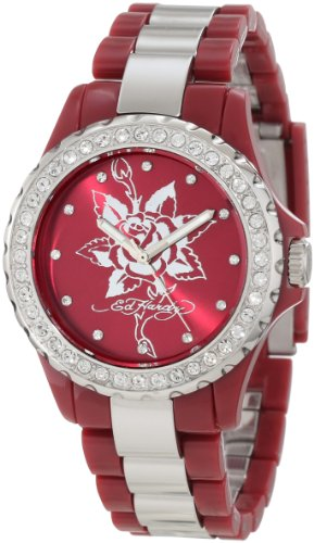 Ed Hardy Women's VX-RD Vixen Red Watch