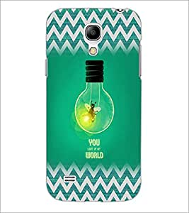 PrintDhaba Quote D-5026 Back Case Cover for SAMSUNG GALAXY S4 MINI (Multi-Coloured)