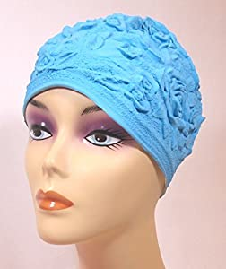 Amazon.com : Aquapro Classic Retro Blue Floral Emboss
