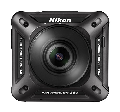 Nikon KeyMission 360 Action Camera, Nero