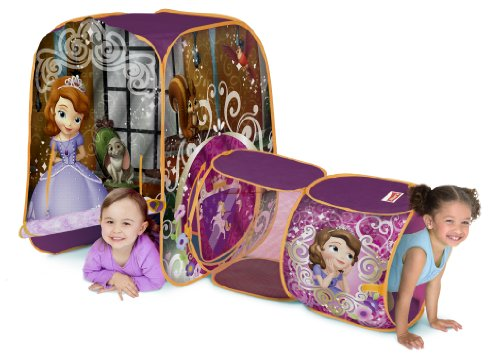 Kids Tunnel Tent front-131220