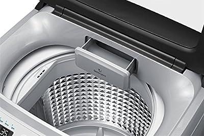Samsung WA65H4300HA/TL Fully-automatic Top-loading Washing Machine (6.5 Kg, Light Grey and Sparkling Black)